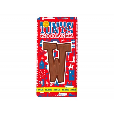 Tony's Melkchocolade letterreep w