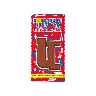 Tony's Melkchocolade letterreep u