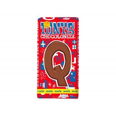 Tony's Melkchocolade letterreep q