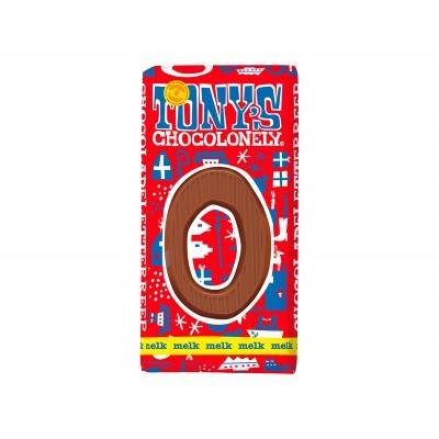 Tony's Melkchocolade letterreep o