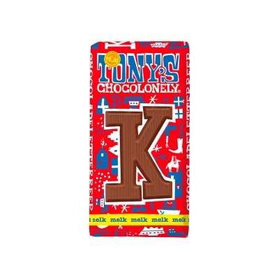 Tony's Melkchocolade letterreep k
