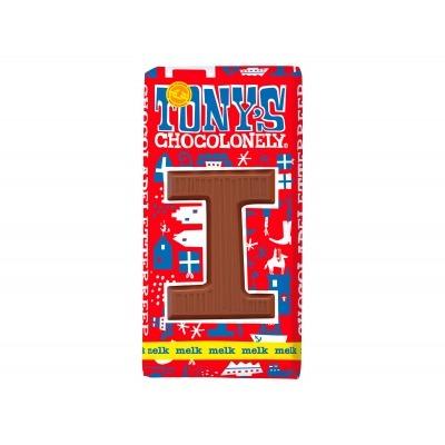 Tony's Melkchocolade letterreep i