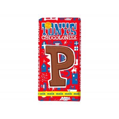 Tony's Melkchocolade letterreep p