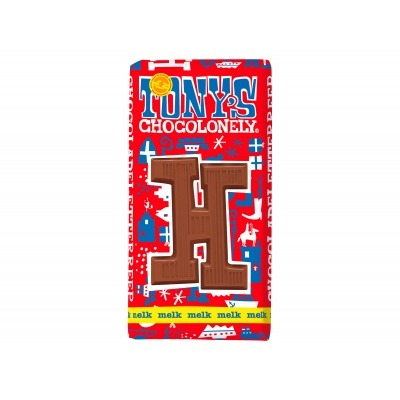 Tony's Melkchocolade letterreep h