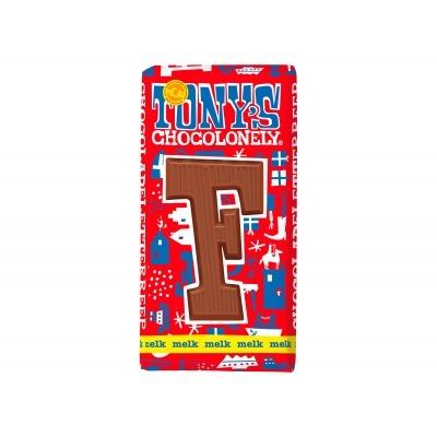 Tony's Melkchocolade letterreep f