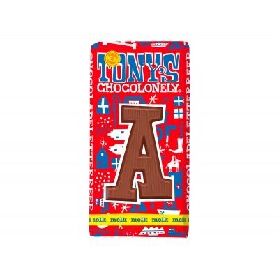 Tony's Melkchocolade letterreep a