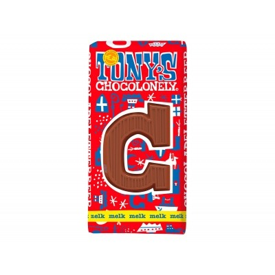 Tony's Melkchocolade letterreep c