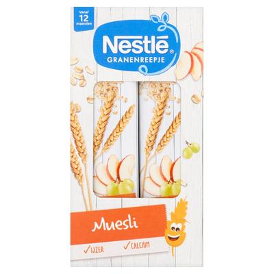 Nestlé Granenreepje Muesli Vanaf 12 Maanden 4 x 25 g
