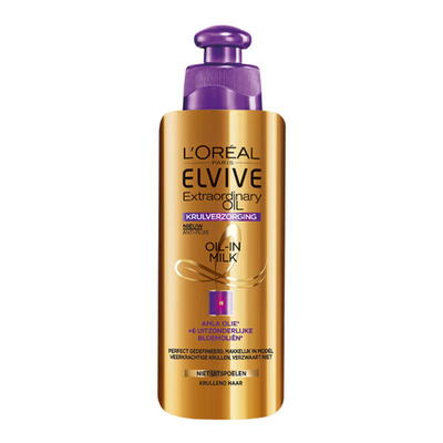 Elvive Oil-in-milk curl nutrition