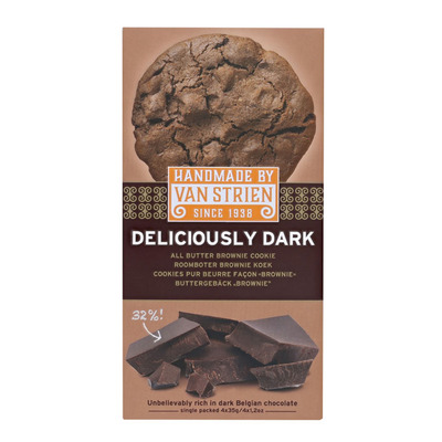 Handmade Deliciously dark all butter brown cookie