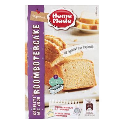 Homemade Complete mix voor roombotercake