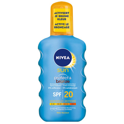 Nivea Sun Protect & Bronze sun spray SPF 20