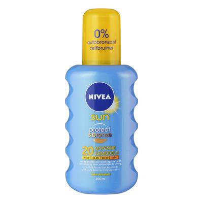 Nivea Sun Protect & bronze spray SPF 20