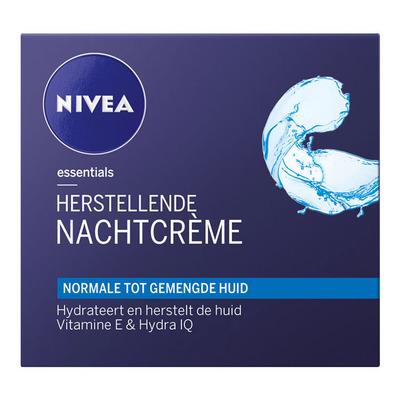 Nivea Visage Herstellende nachtcrème