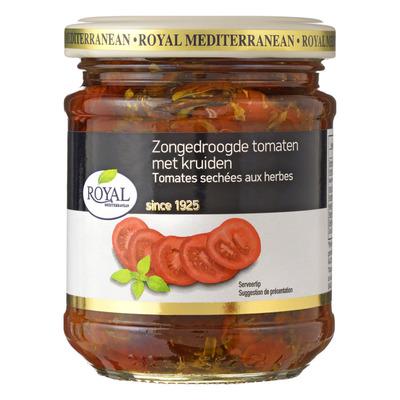 Royal Zongedroogde tomaten met kruiden