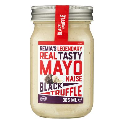 Remia Mayonaise black truffel