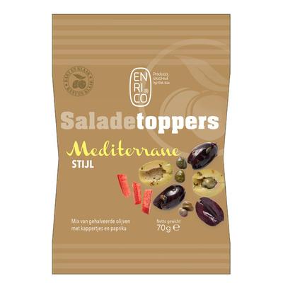 Enrico Saladetoppers mediterrane mix