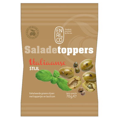 Enrico Saladetoppers Italiaanse mix