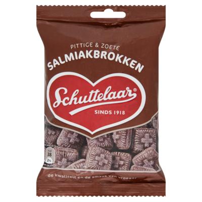 Schuttelaar Salmiakbrokken