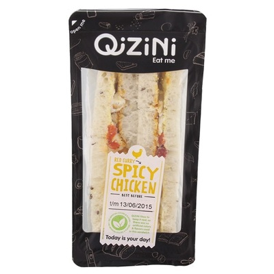 Qizini Sandwich Spicy Chicken