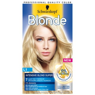 Schwarzkopf Blonde L1 super intensive blond