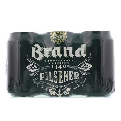 Brand Pils Bier Blik  6X33 Cl