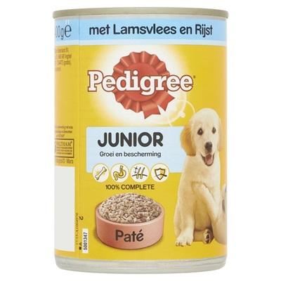 Pedigree Hondenvoer Junior Paté Met Lamsvlees En Rijst