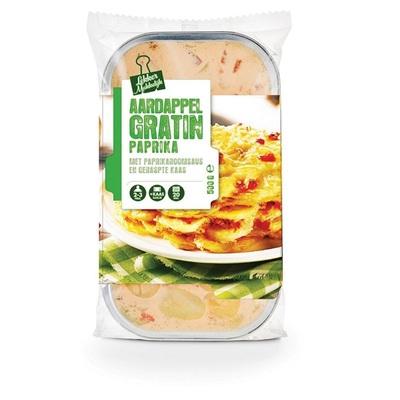 aardappel gratin paprika
