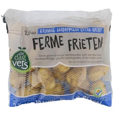 friet aardappelen kruimig