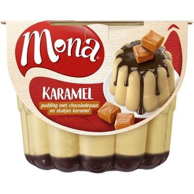 Mona Pudding Caramel Met Saus