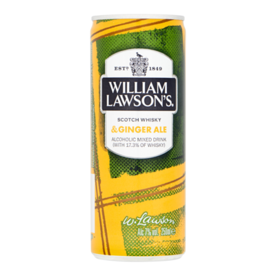 William Lawson's Ginger Ale