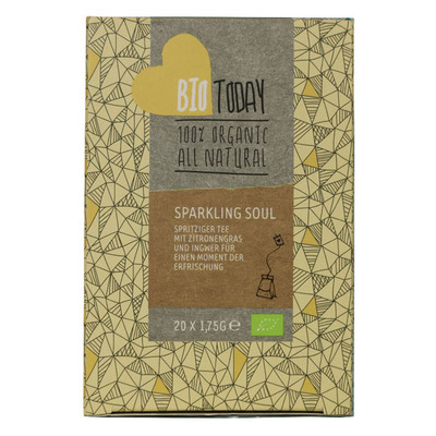 Bio Today Sparkling soul tea