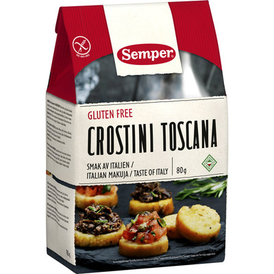 Semper Crostini Toscana glutenvrij