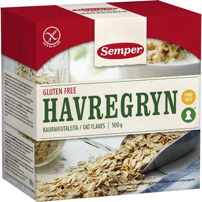 Semper Havregryn glutenvrij