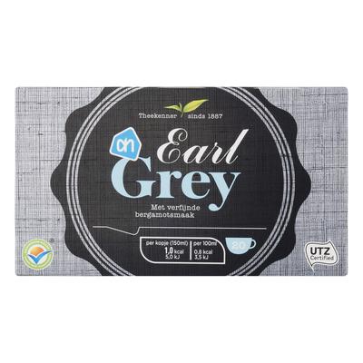 Huismerk Earl grey 1-kops