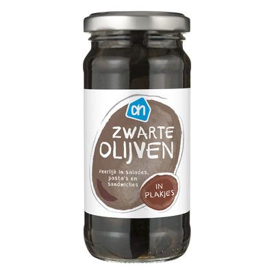 Huismerk Zwarte olijven plakjes