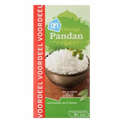 Huismerk Pandan rijst voordeel
