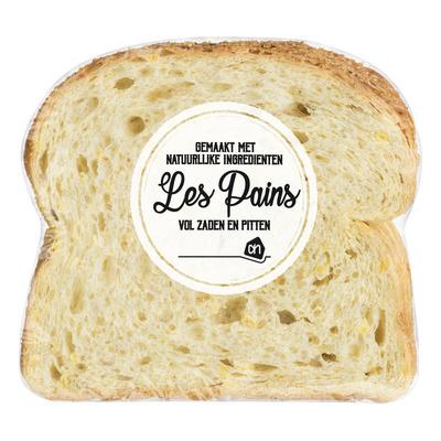 Huismerk Les Pains madelaine mais half