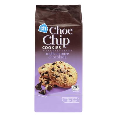 AH Choc chip cookies melk-puur
