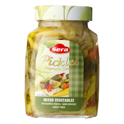 Sera Pickled mixed vegetables karisik tursu