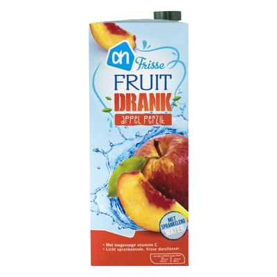 Huismerk Frisse fruitdrank appel-perzik