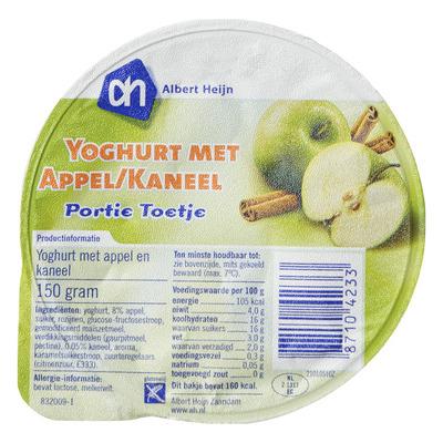 AH Portie yoghurt appel-kaneel