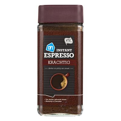 Huismerk Oploskoffie espresso