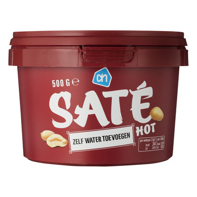 Huismerk Satésaus hot