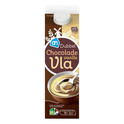 Huismerk Dubbelvla chocolade-vanille