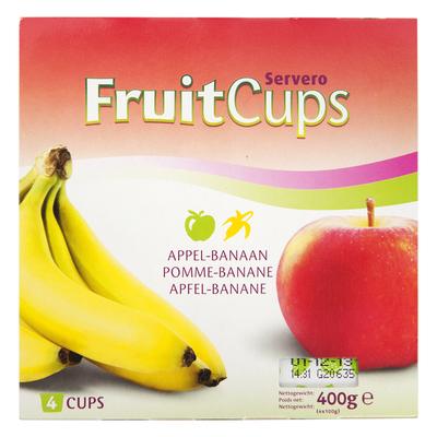 Servero Fruitdessert appel/ banaan