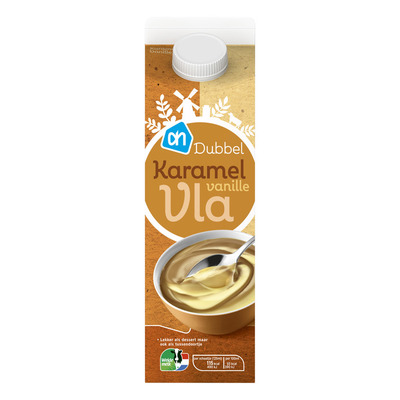 AH Dubbelvla karamel-vanille