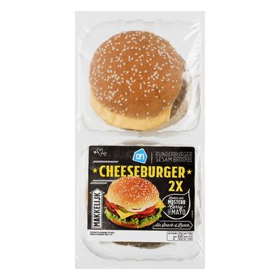Huismerk Broodje cheeseburger