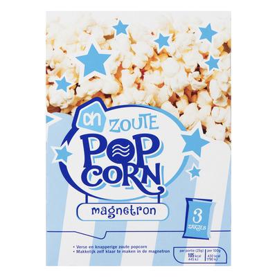 Huismerk Microwave popcorn zout