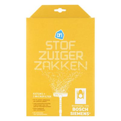 Huismerk Stofzuigerzakken type Bosch/Siemens